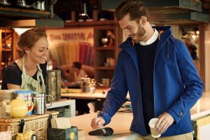 Lyle & Scott's payment jacket enables 'off the cuff' contactless payments